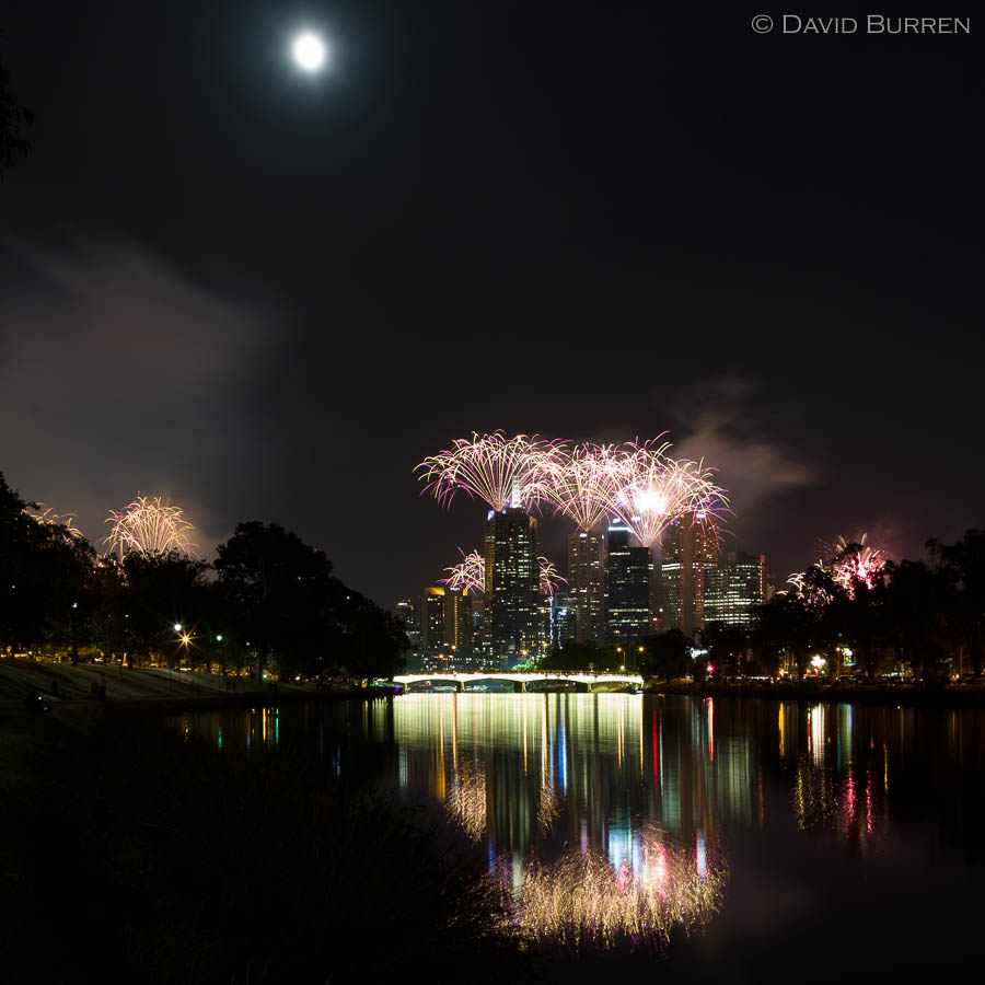 New Year's Eve, Melbourne
